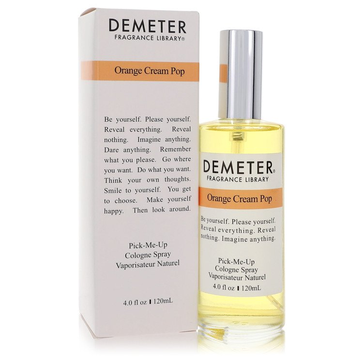 Demeter by Demeter for Women Orange Cream Pop Cologne Spray 4 oz