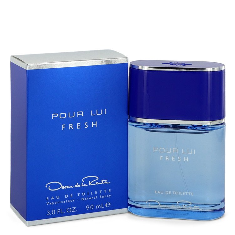 Oscar Pour Lui Fresh by Oscar De La Renta Men's Eau De Toilette Spray 3 oz