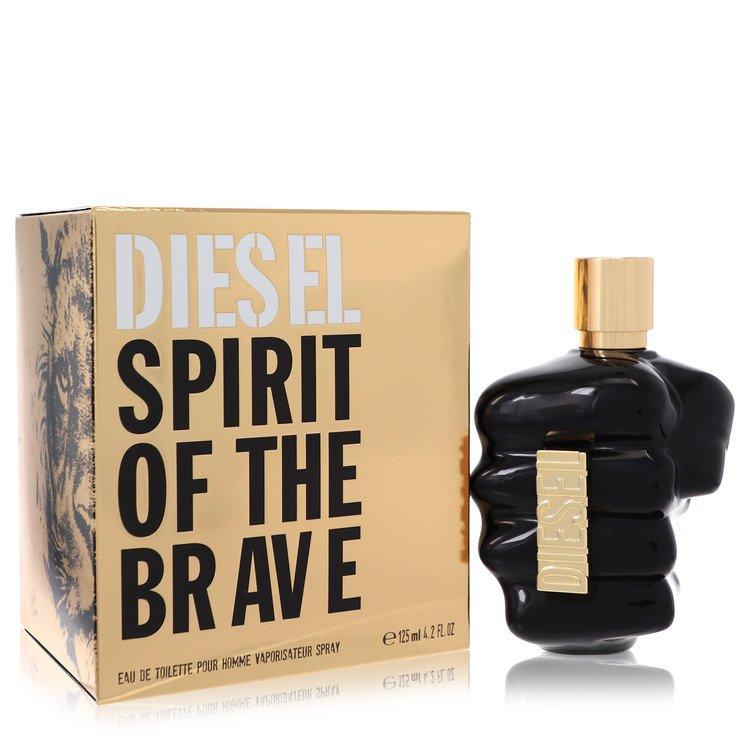 Only The Brave Spirit by Diesel Men's Eau De Toilette Spray 4.2 oz