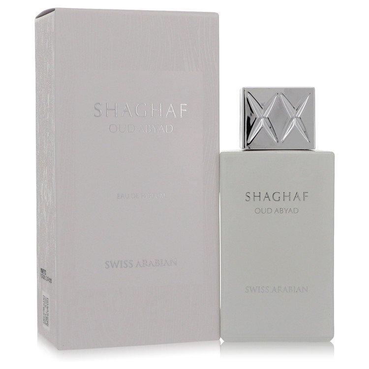 Shaghaf Oud Abyad by Swiss Arabian Men's Eau De Parfum Spray (Unisex) 2.5 oz