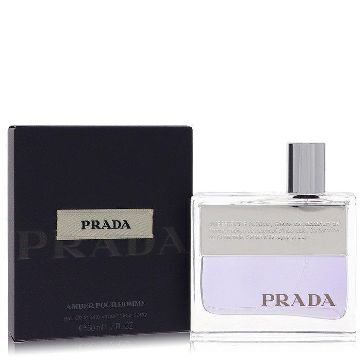 Prada Amber by Prada for Men Eau De Toilette Spray 1.7 oz