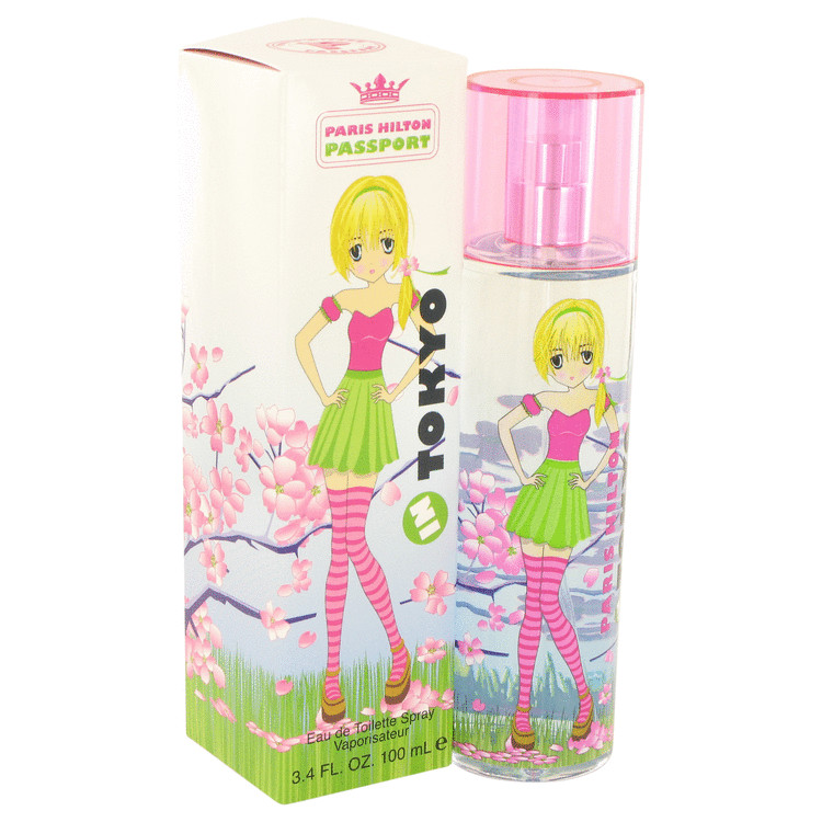 Paris Hilton Passport In Tokyo Perfume 3.4 oz EDT Spay for Women