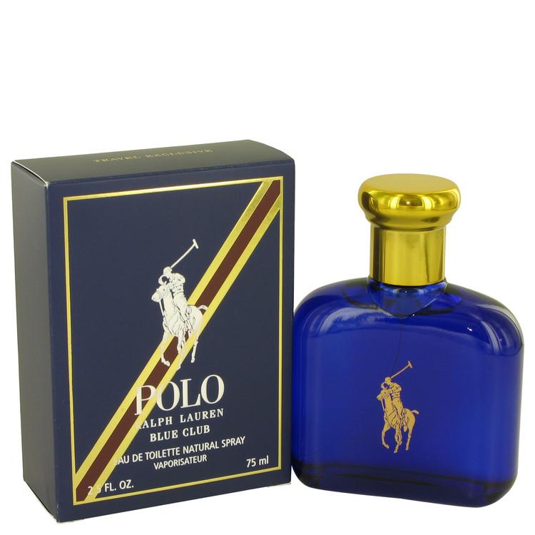 Polo Blue Club by Ralph Lauren for Men Eau De Toilette Spray 2.5 oz