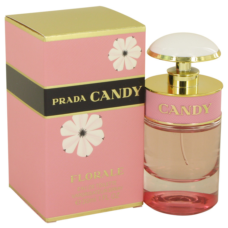 Prada Candy Florale by Prada for Women Eau De Toilette Spray 1 oz