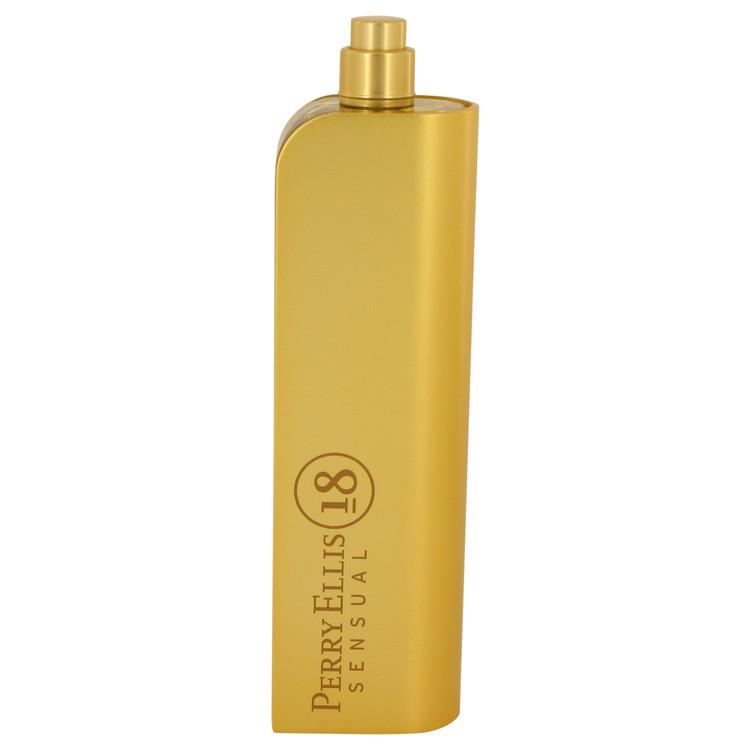 Perry Ellis 18 Sensual by Perry Ellis for Women Eau De Parfum Spray (Tester) 3.4 oz