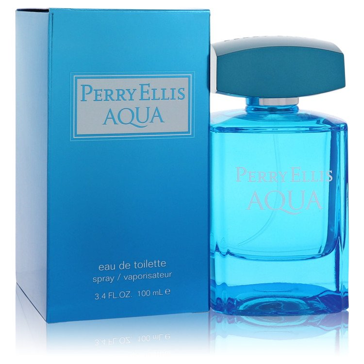 Perry Ellis Aqua by Perry Ellis –  Eau De Toilette Spray 3.4 oz 100 ml for Men