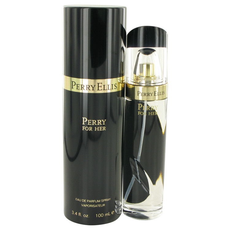 Perry Black by Perry Ellis for Women Eau De Parfum Spray 3.4 oz