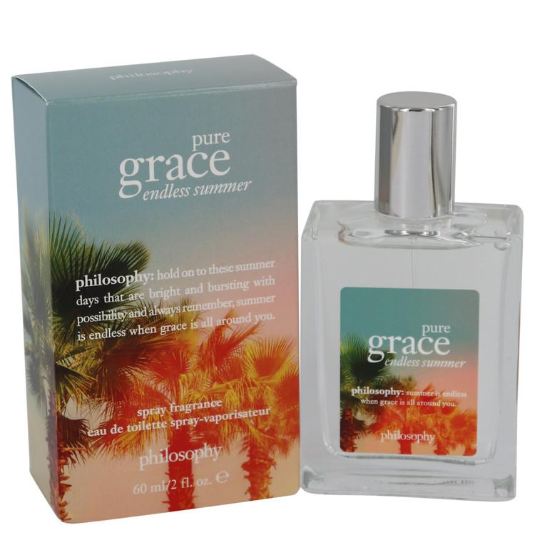 Pure Grace Endless Summer by Philosophy for Women Eau De Toilette Spray 2 oz