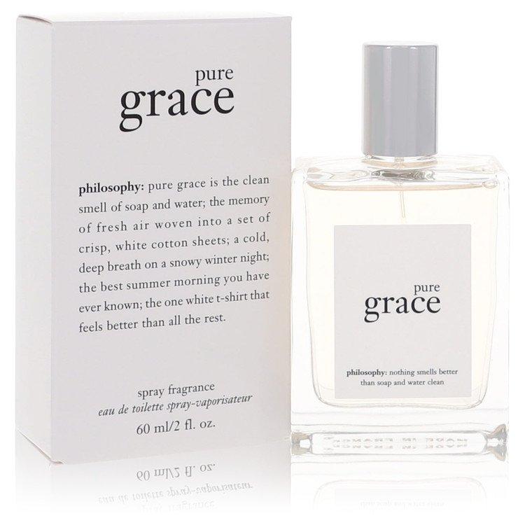 Pure Grace by Philosophy for Women Eau De Toilette Spray 2 oz