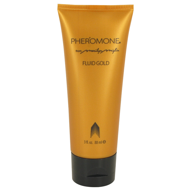 Pheromone Body Lotion 3 oz Fluid Gold Lotion (Unboxed) for Women