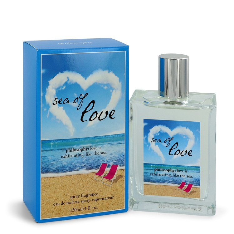 Philosophy Sea of Love by Philosophy –  Eau De Toilette Spray 4 oz 120 ml for Women