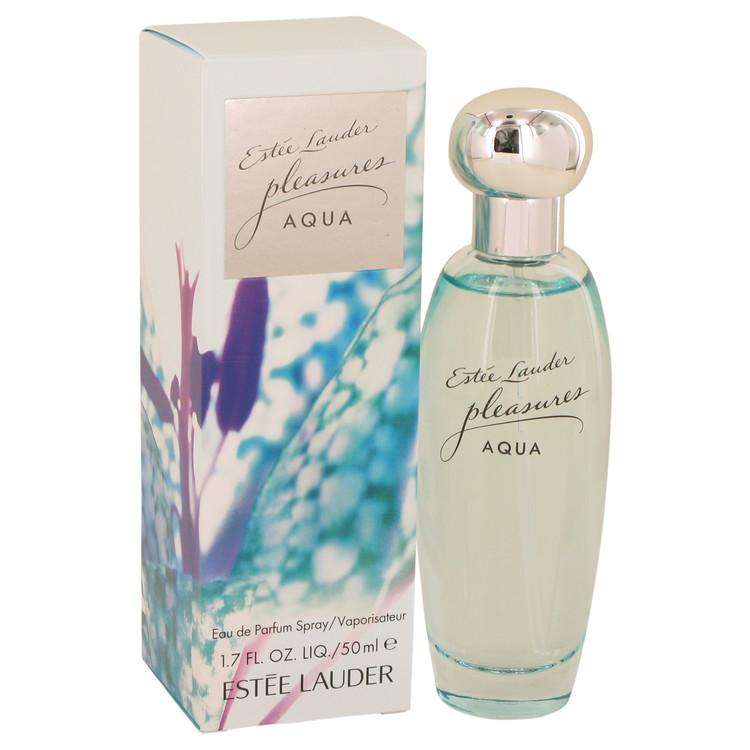 Pleasures Aqua by Estee Lauder for Women Eau De Parfum Spray 1.7 oz