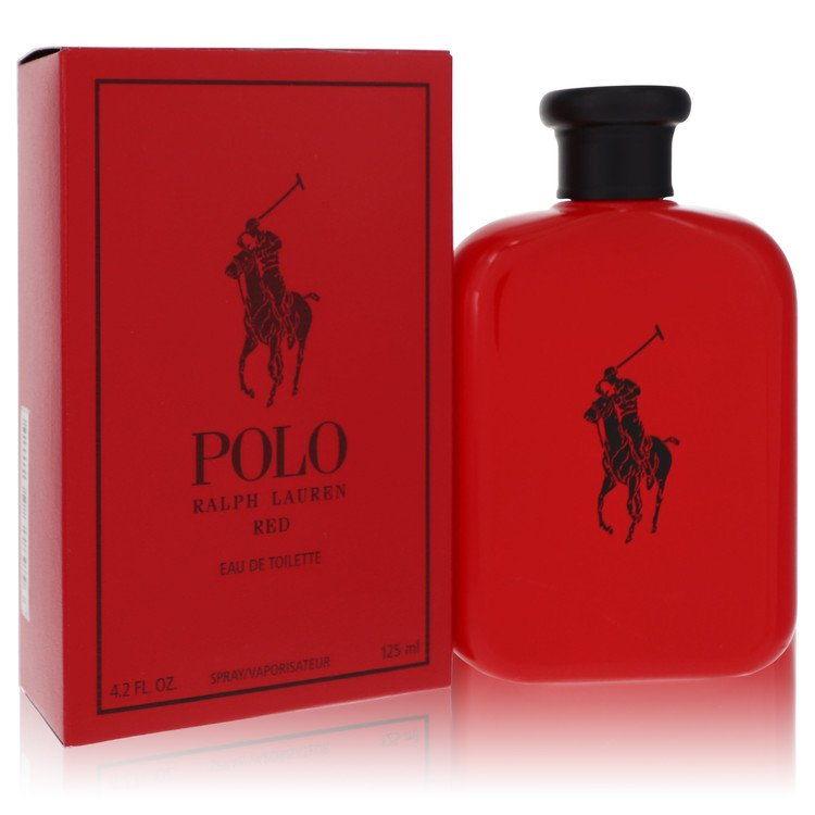 Polo Red by Ralph Lauren for Men Eau De Toilette Spray 4.2 oz