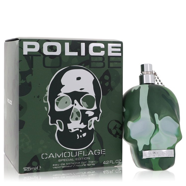Police To Be Camouflage by Police Colognes –  Eau De Toilette Spray (Special Edition) 4.2 oz 125 ml for Men