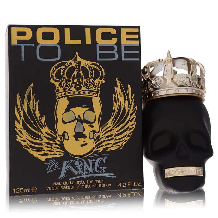 Police To Be The King by Police Colognes for Men Eau De Toilette Spray 4.2 oz