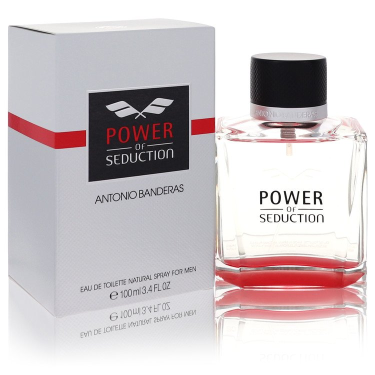 Power Of Seduction Cologne by Antonio Banderas 3.4 oz EDT Spay for Men