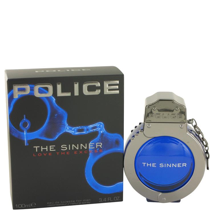 Police The Sinner by Police Colognes for Men Eau De Toilette Spray 3.4 oz