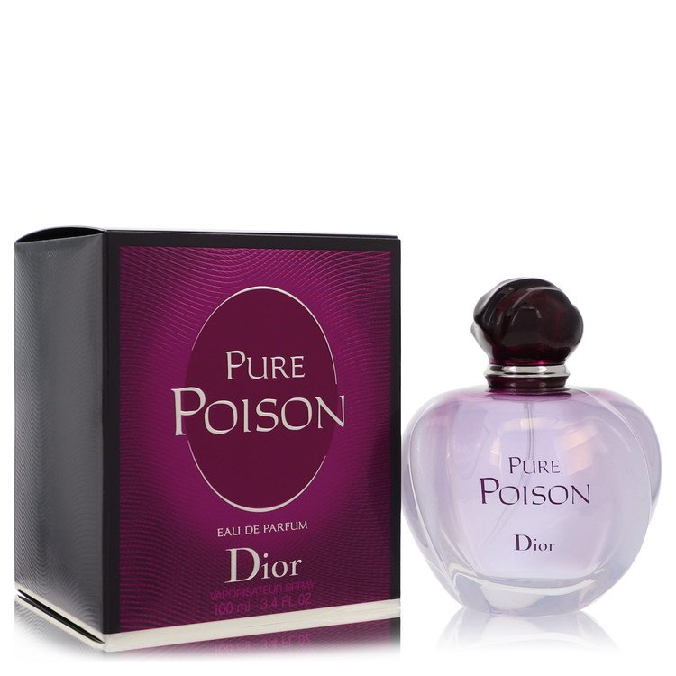Pure Poison by Christian Dior for Women Eau De Parfum Spray 3.4 oz