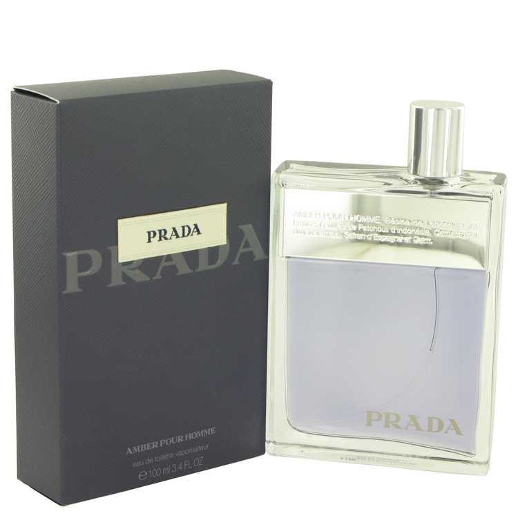 Prada Amber Cologne by Prada 3.4 oz EDT Spray for Men