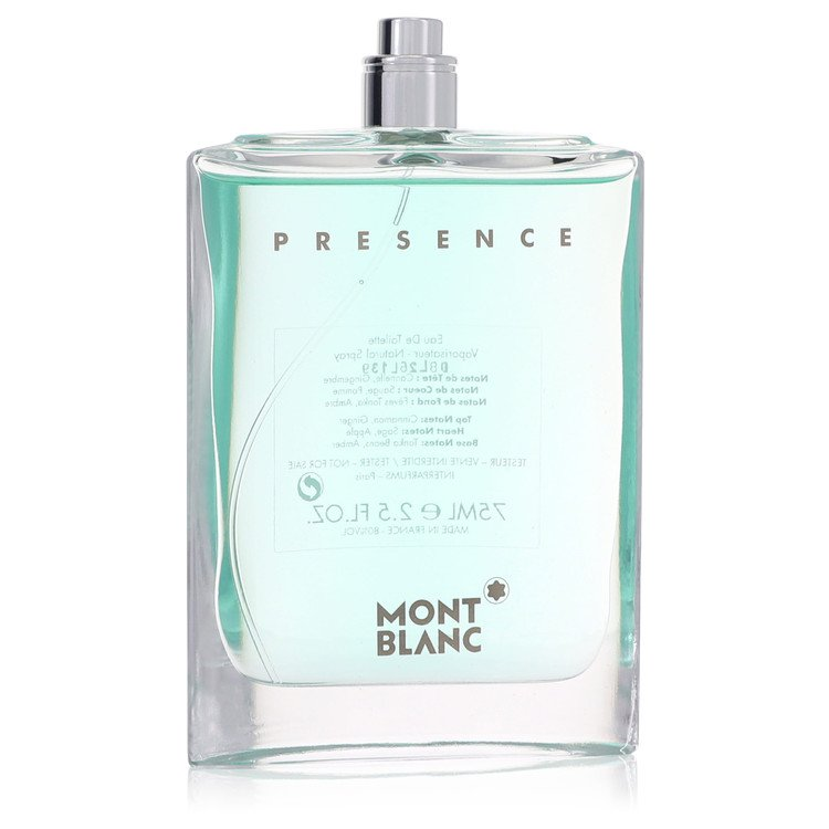 Presence Cologne by Mont Blanc 2.5 oz EDT Spray(Tester) for Men