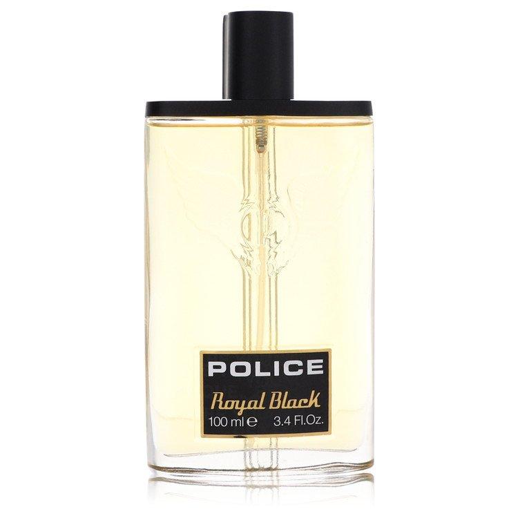 Police Royal Black by Police Colognes Men's Eau De Toilette Spray (Tester) 3.4 oz