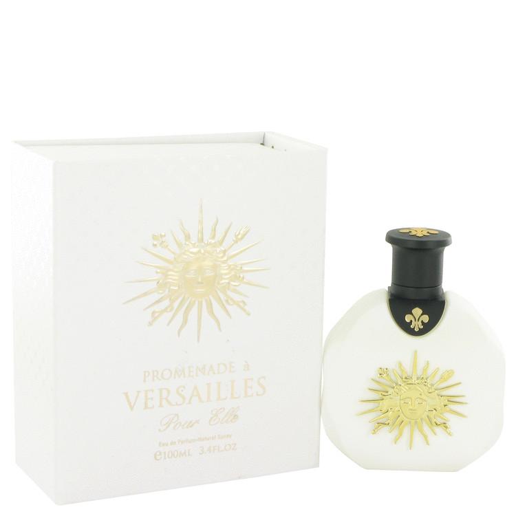Promenade a Versailles Pour Elle by Parfums Du Chateau De Versailles for Women Eau De Parfum Spray 3.4 oz