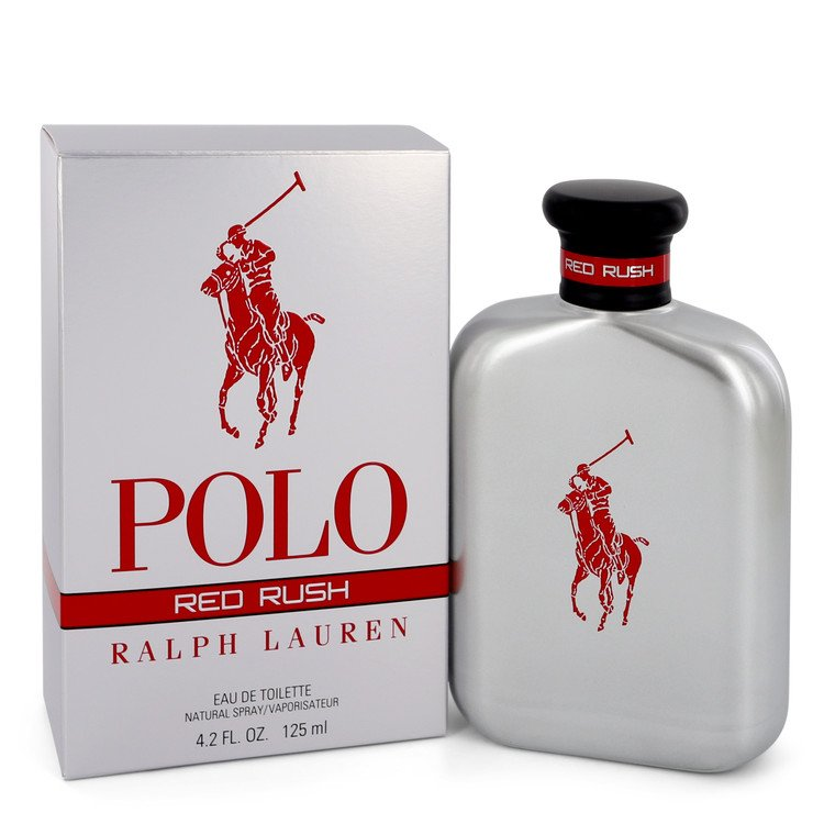 Polo Red Rush by Ralph Lauren –  Eau De Toilette Spray 4.2 oz 125 ml for Men