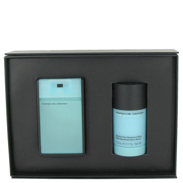 The Essence for Men, Gift Set (1.7 oz EDT Spray + 2.7 oz Deodorant Stick)