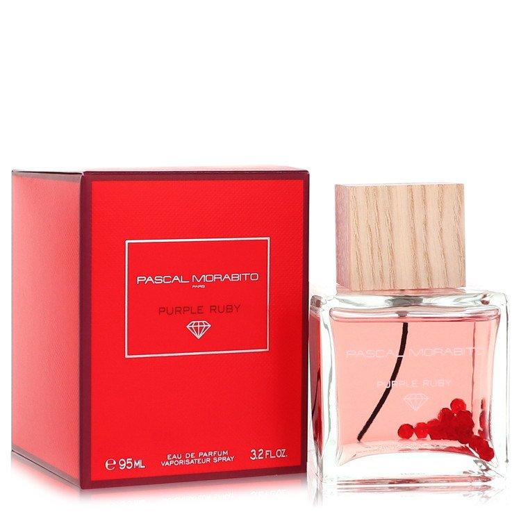 Purple Ruby by Pascal Morabito –  Eau De Parfum Spray 3.4 oz 100 ml for Women