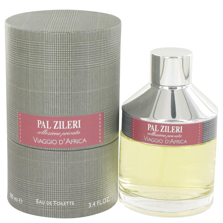 Pal Zileri Viaggio D'africa Cologne by Mavive 3.4 oz EDT Spay for Men