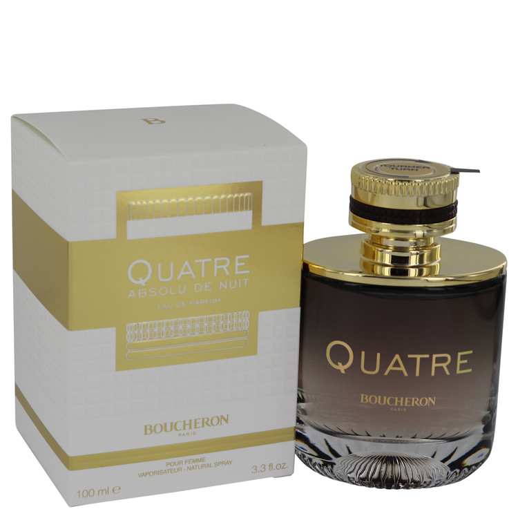 Quatre Absolu De Nuit Perfume by Boucheron 3.3 oz EDP Spay for Women