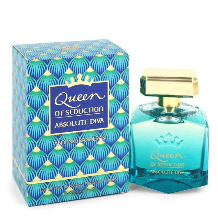 Queen of Seduction Absolute Diva by Antonio Banderas Eau De Toilette Spray 2.7 oz for Women