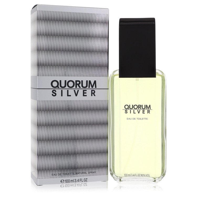 Quorum Silver Cologne by Puig 3.4 oz EDT Spray for Men