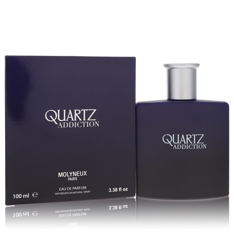 Quartz Addiction by Molyneux for Men Eau De Parfum Spray 3.4 oz
