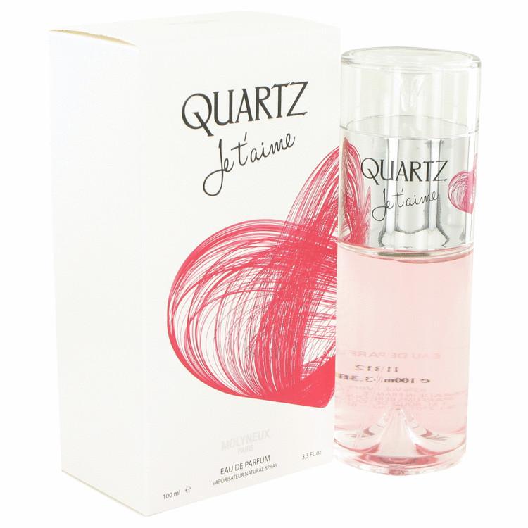 Quartz Je T\'aime by Molyneux for Women Eau De Parfum Spray 3.3 oz