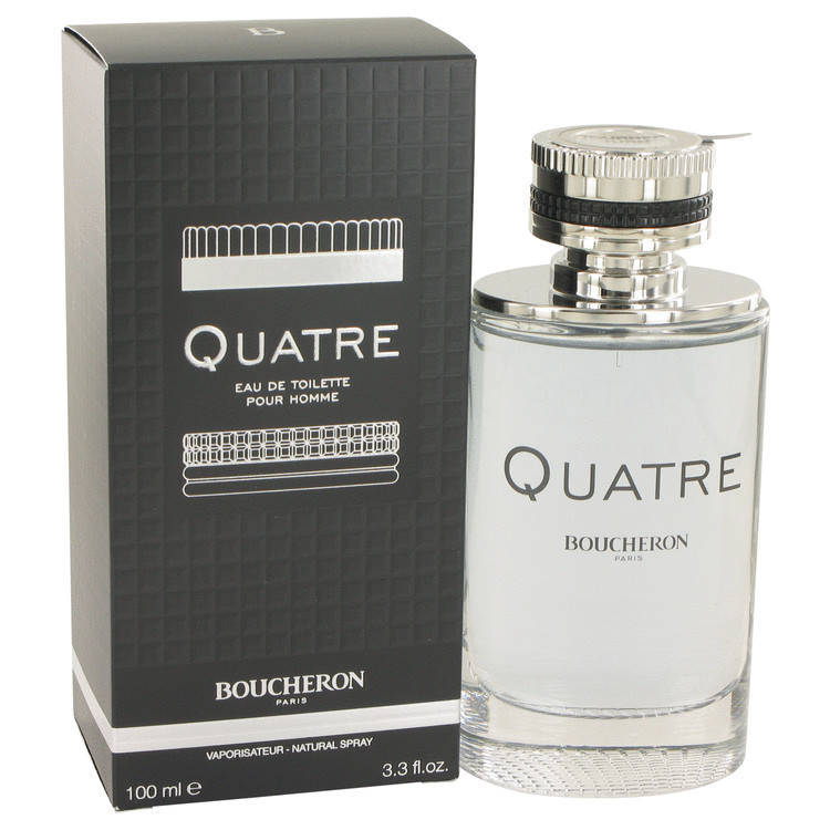 Quatre by Boucheron for Men Eau De Toilette Spray 3.4 oz