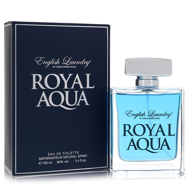 Royal Aqua by English Laundry for Men Eau De Toilette Spray 3.4 oz
