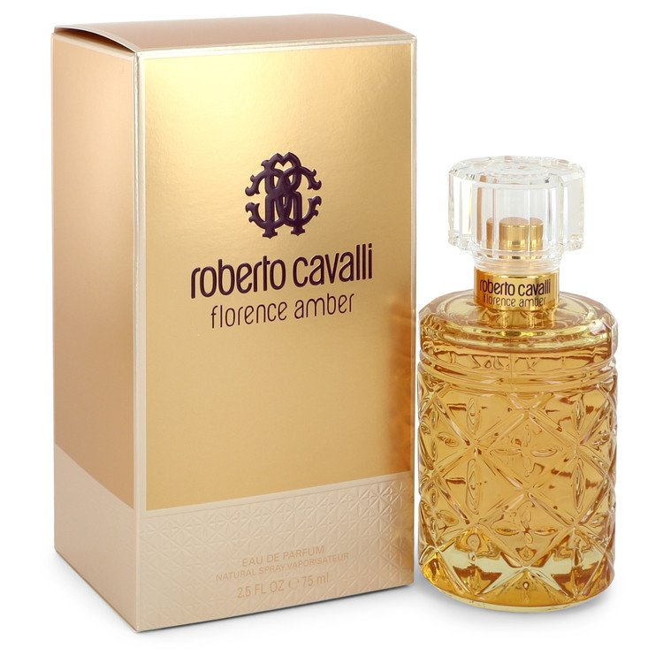 Roberto Cavalli Florence Amber by Roberto Cavalli Women's Eau De Parfum Spray 2.5 oz