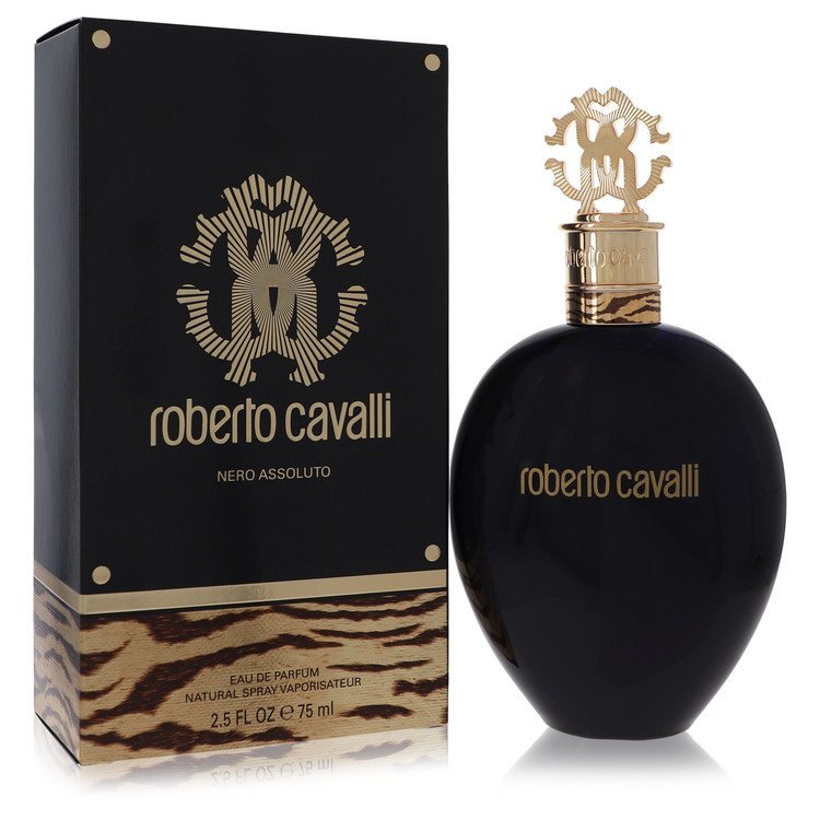 Roberto Cavalli Nero Assoluto by Roberto Cavalli for Women Eau De Parfum Spray 2.5 oz