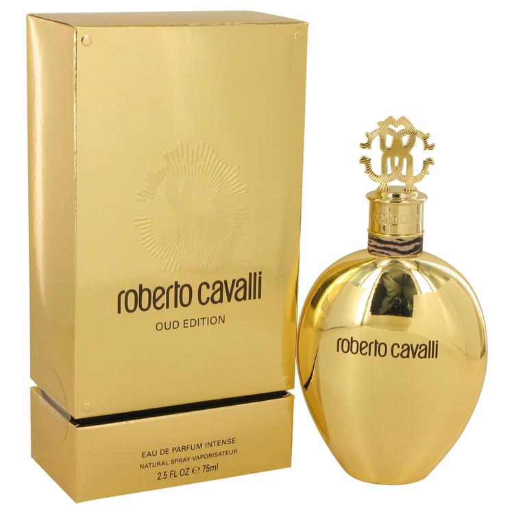 Roberto Cavalli Oud Perfume 2.5 oz EDP Intense Spray for Women