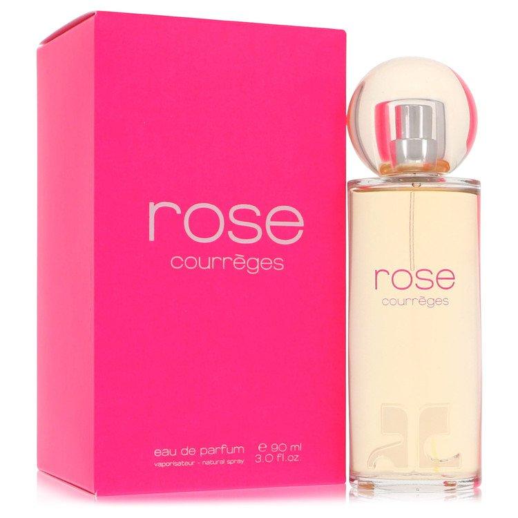 Rose De Courreges by Courreges for Women Eau De Parfum Spray (New Packaging) 3 oz