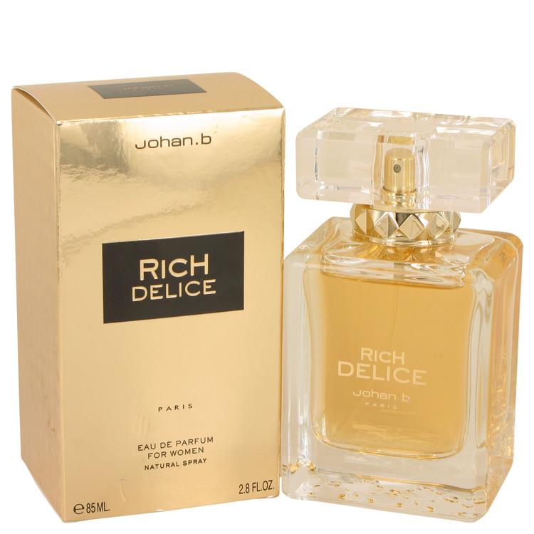Rich Delice by Johan B for Women Eau De Parfum Spray 2.8 oz