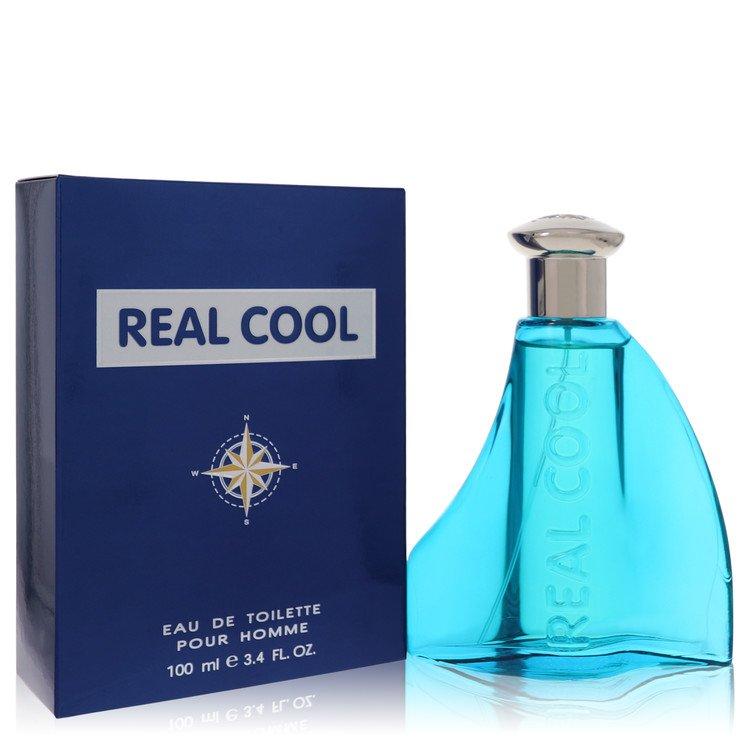 Real Cool by Victory International for Men Eau De Toilette Spray 3.4 oz