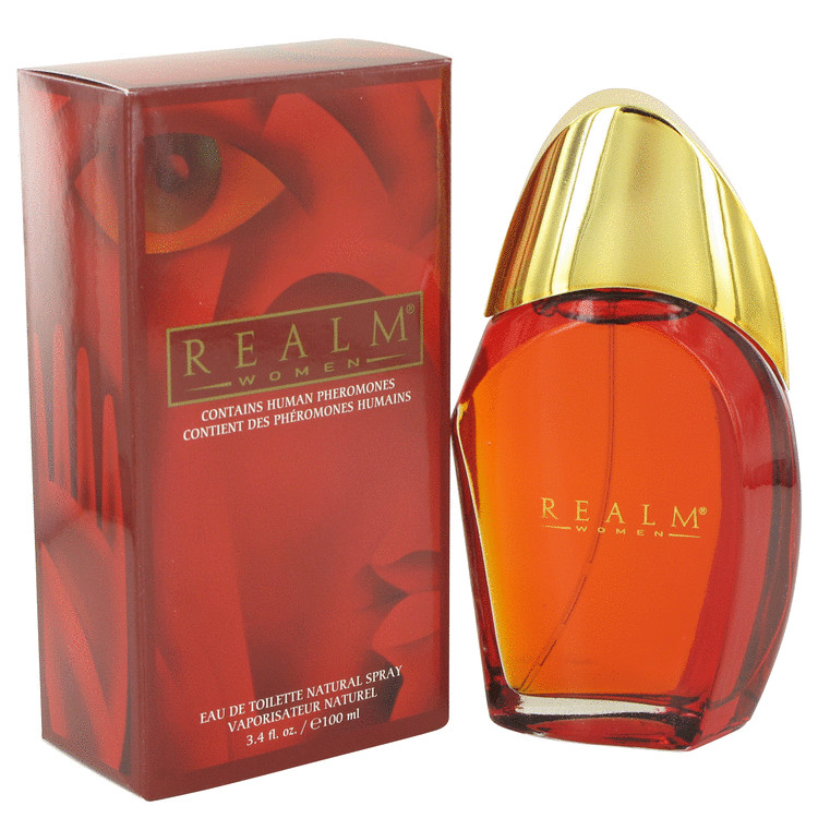 Realm Perfume by Erox 3.4 oz EDT Spray for Women