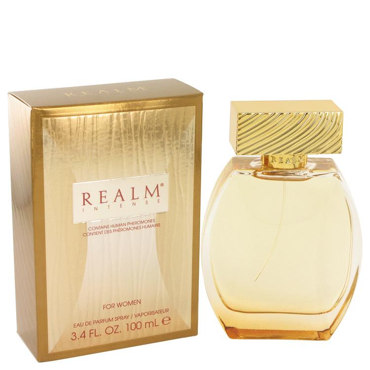 Realm Intense by Erox for Women Eau De Parfum Spray 3.4 oz