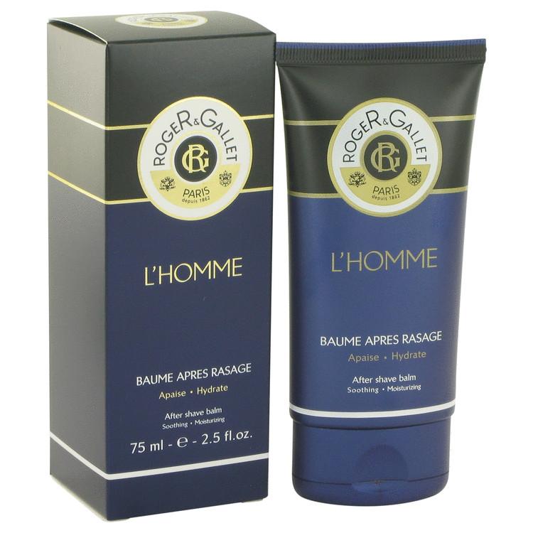 Roger & Gallet L'homme After Shave Balm 2.5 oz After Shave Balm for Men