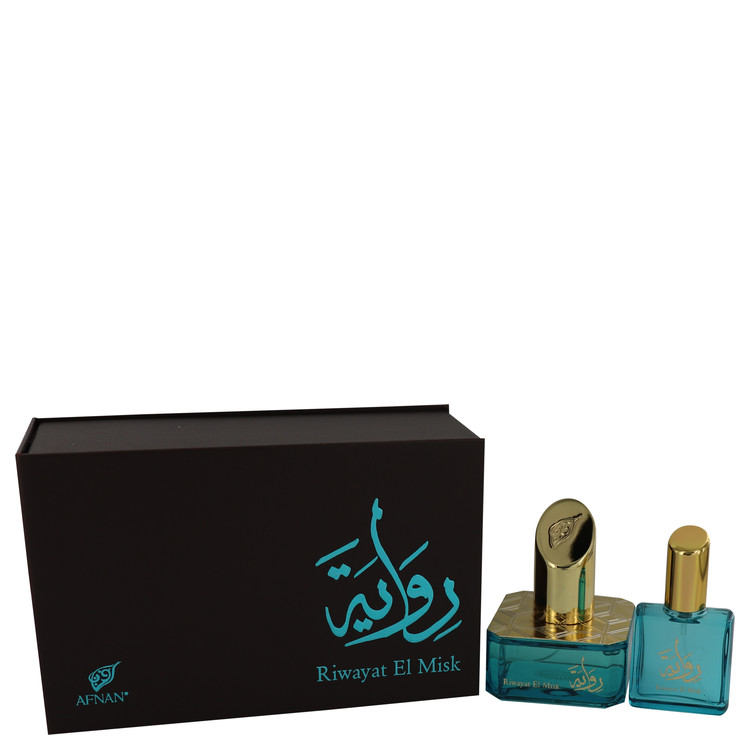 Riwayat El Misk by Afnan for Women Eau De Parfum Spray + Free .67 oz Travel EDP Spray 1.7 oz