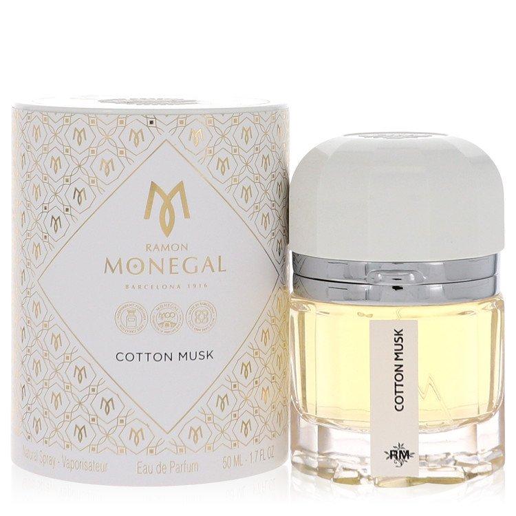 Ramon Monegal Cotton Musk Perfume 1.7 oz EDP Spay for Women Spray