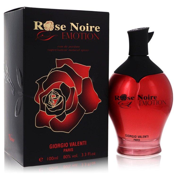 Rose Noire Emotion by Giorgio Valenti for Women Eau De Parfum Spray 3.3 oz