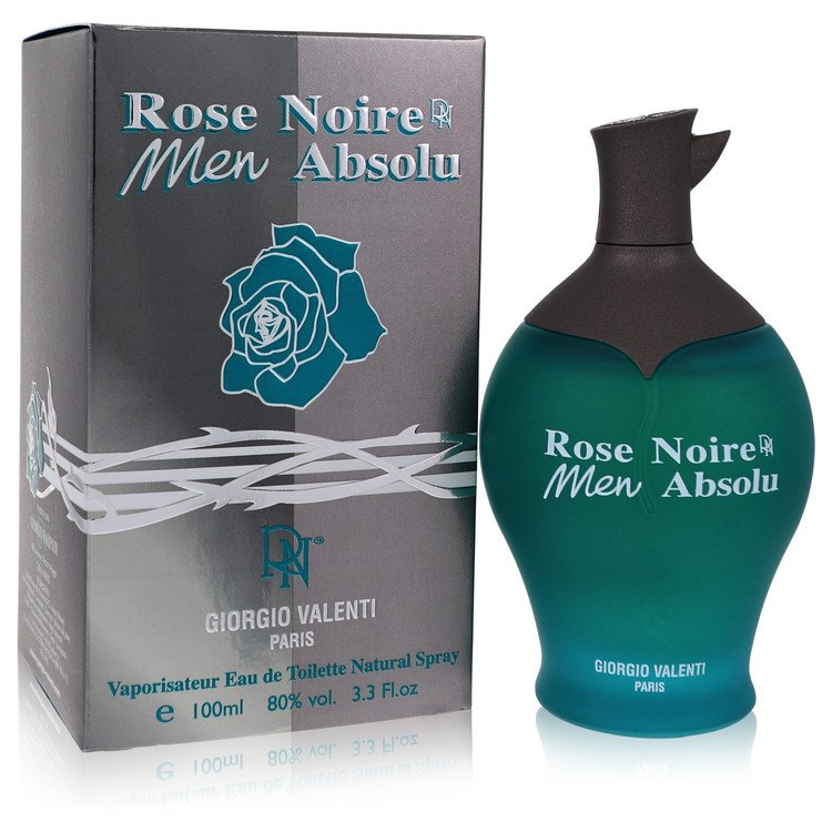 Rose Noire Absolu by Giorgio Valenti for Men Eau De Toilette Spray 3.4 oz